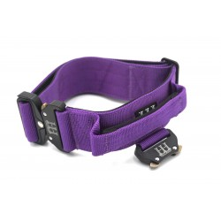 Tactical Lead and Collar Comfort Set Large Purple