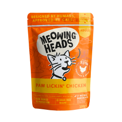 Meowing Heads Paw Lickin Chicken - Wet