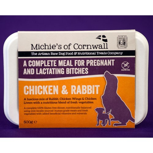 Chicken and Rabbit Pregnant Mix