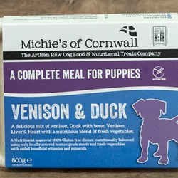 Venison and Duck - Puppy
