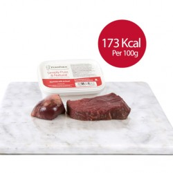 Minced Beef trim with Ox Heart